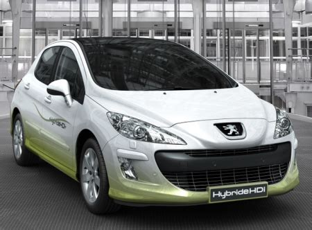 Peugeot 308 Mpg Frankfurt Preview Peugeot 308 Hybrid Hdi Gets 69 Mpg With