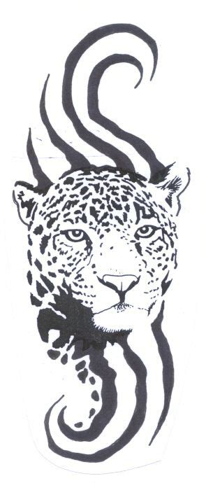 leopard tribal tattoo 17 best images about shirt design on stencils