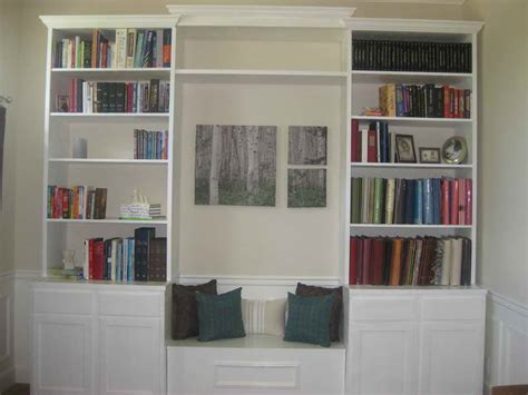 how to repair how to build built in bookcases window