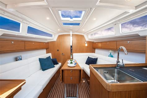 New Boat Interior by Bavaria Cruiser 33 Specifications Clipper Marine