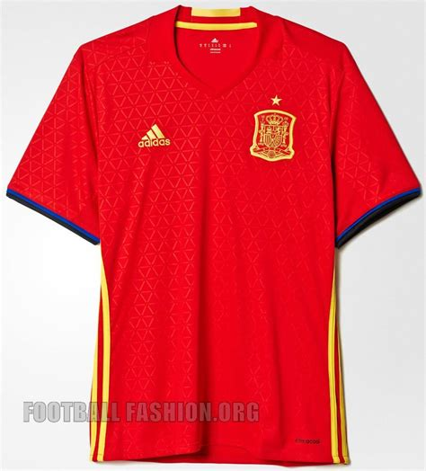 Kaos T Shirt Team Vir We Sock spain 2016 adidas home kit unveiled football