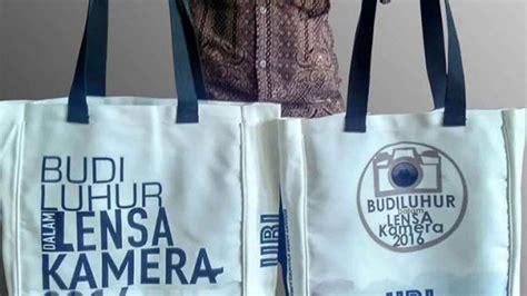 Sablon Tas Goodybag Sponbon sablon tas kanvas desain custom murah perdana goodie bag