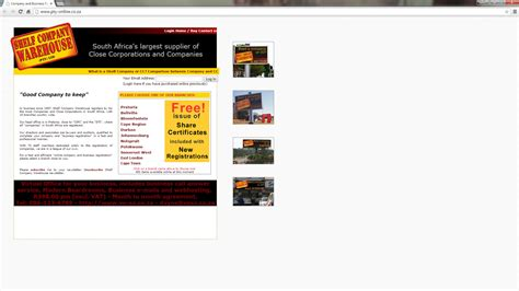 The Shelf Websites by South Africa S Ugliest Websites