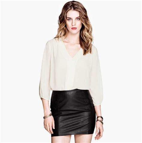 modelos de faldas para ir a trabajar en la oficina lindas blusas para tus d 237 as en el trabajo oficina femenina