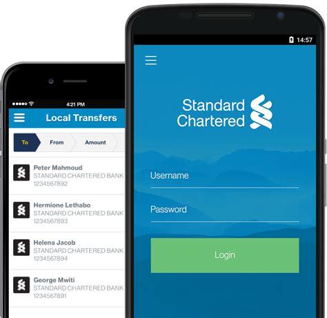 banking on mobile mobile banking app standard chartered kenya