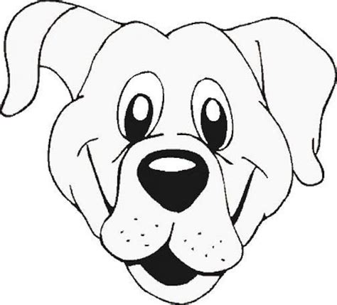 dog face coloring page 492789 download kipper the dog