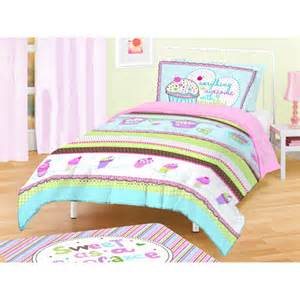 Walmart Kids Bedding American Kids Cupcakes Bedding Comforter Set Walmart Com