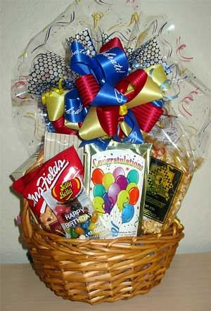congratulations gift basket for one gift baskets