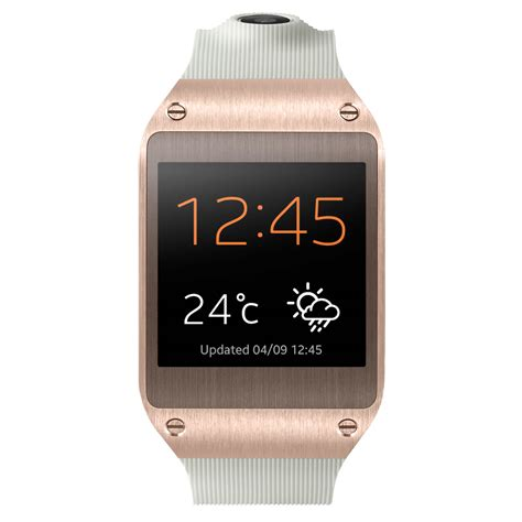 new samsung galaxy gear smartwatch v700 v7000 gold ebay