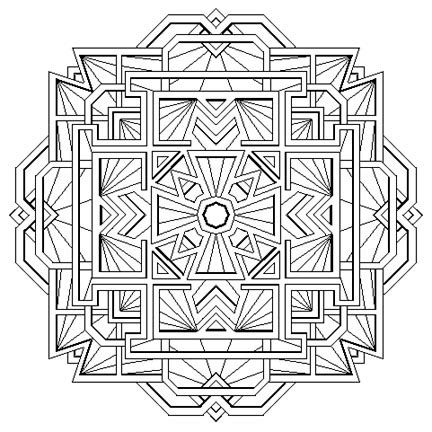 tibetan style mandala i by mandalamama on deviantart