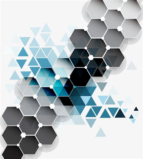 vector pattern hex colorful diamond background vector diamond hexagon
