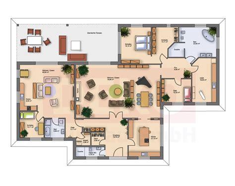 wohnung 75 m2 grundriss grundriss bungalow 5 zimmer loopele