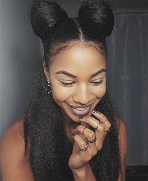 african american hair buns natural hair hairstyles buns half up hairstyles