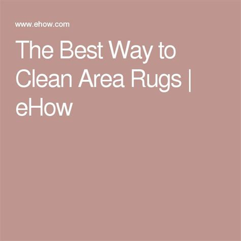 Best Way To Clean An Area Rug Best 25 Cleaning Area Rugs Ideas On Pinterest Area Rugs Carpets And Rug Cleaning