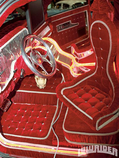 velvet car interior brown impressions 30 years of lowriding lowrider magazine