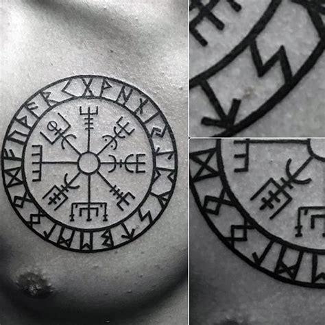 25 best ideas about viking compass tattoo on pinterest