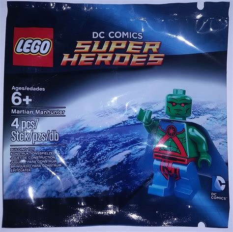 Dijamin Lego Minifigure Martian Manhunter Polybag complete list of all lego marvel and dc polybags with minifigures minifigure price