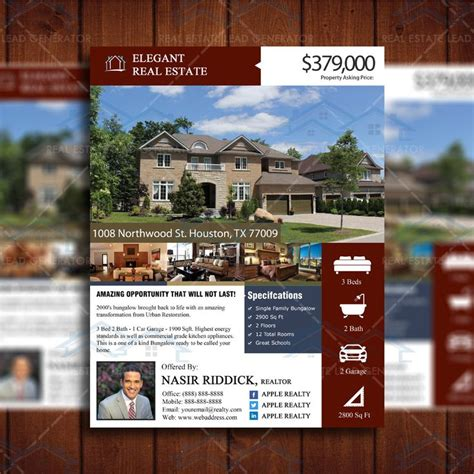 property listing template 17 best images about marketing on marketing