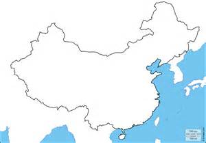 China Outline Map With Cities by China Free Map Free Blank Map Free Outline Map Free Base Map Coasts Limits