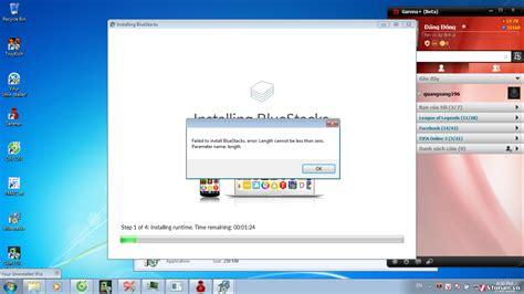 bluestacks latest version already installed c 224 i đặt bluestacks bị lỗi failed to install bluestacks error