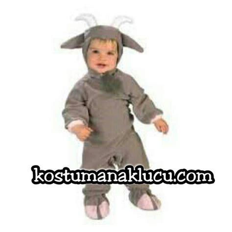 Baju Setelan Anak Senhukai 3pc kostum anak lucu kambing kostum anak lucu