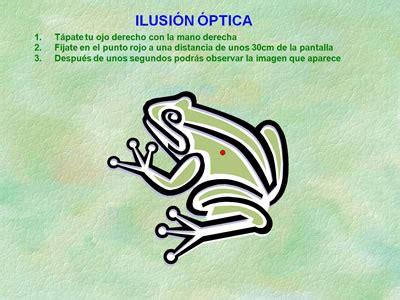 ilusiones opticas de risa la rana humor