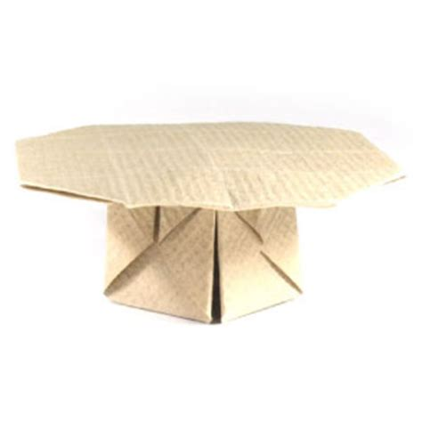Origami Folding Table - how to make an origami table page 1