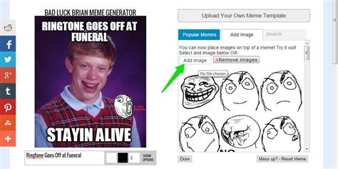 Create Your Own Meme Upload Image - how to make a meme easy ubergizmo