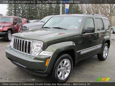 green jeep liberty 2008 jeep green metallic 2008 jeep liberty limited 4x4