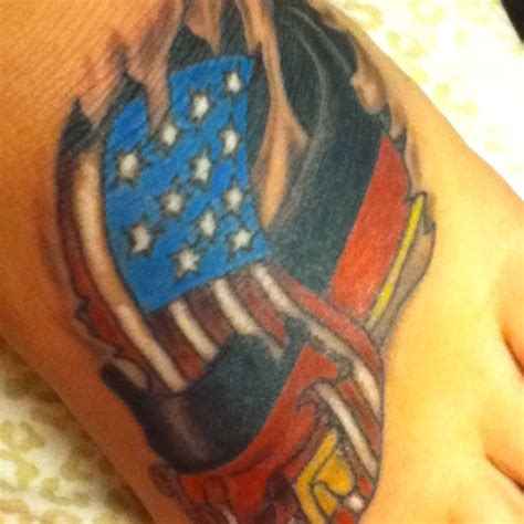 german flag tattoo designs german and american flag intertwining tattoos
