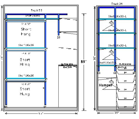 Closet Shelf Heights Standard by Outstanding Standard Coat Closet Pole Height
