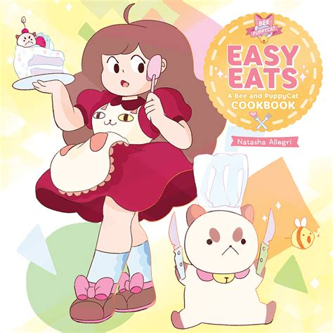 bee and puppy cat bee puppycat serving up a cookbook newsarama