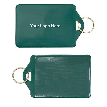 Card Holder Key Ring key ring id card holder by office depot officemax