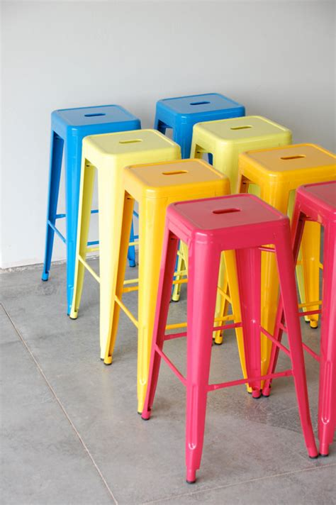 Colorful Stool by Custom Painted Style Stool In The Color Of By Sugarscout