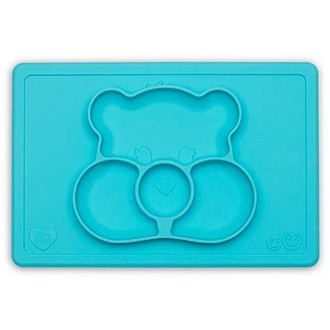 Ezpz Care Bears Mat In Teal ezpz care 174 happy mat placemat bed bath beyond