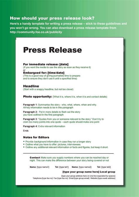 47 free press release format templates exles sles