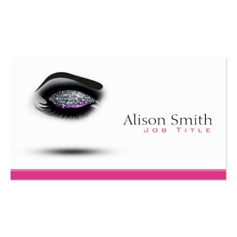 makeup artist business card templates bizcardstudio com