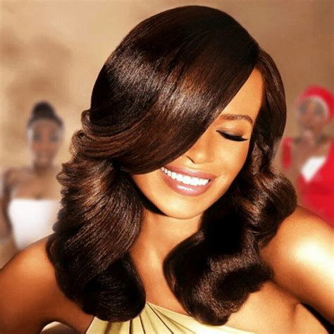 latest style of fixing weaveon 6 amazing hairstyles you need to see amillionstyles com