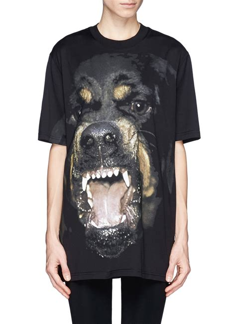 Givenchy Ba 580 1 Givenchy Rottweiler T Shirt In Black Lyst
