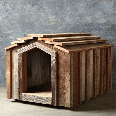 dog houses wood reclaimed wood dog house medium several interesting products pin