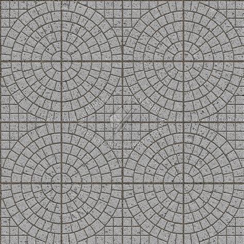 Cobblestone paving travertine texture seamless 06414