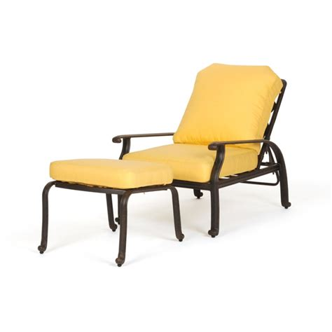 patio chair with nesting ottoman furniture handsome patio chairs with ottoman adjustable