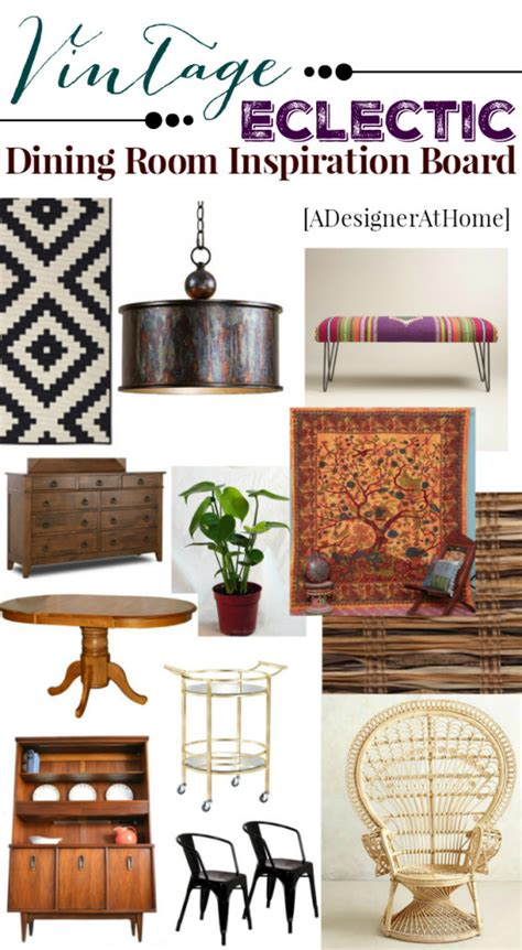 eclectic bohemian dining room plans