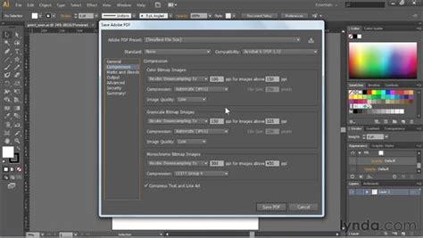 illustrator tutorial in pdf creating pdf files