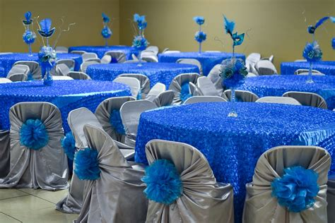 How To Decorate For A Quinceanera by Beautiful Quince Decorations 15 Quinceanera Blue Theme