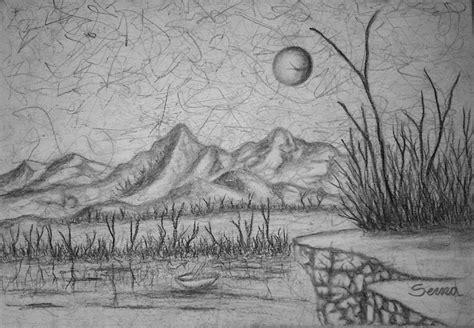 imagenes para dibujar a lapiz de paisajes dibujos de paisajes a lapiz faciles imagui