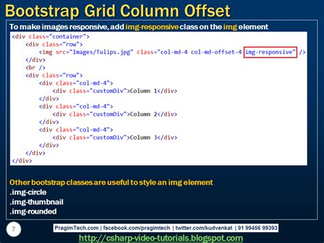 bootstrap layout grid offset sql server net and c video tutorial bootstrap grid