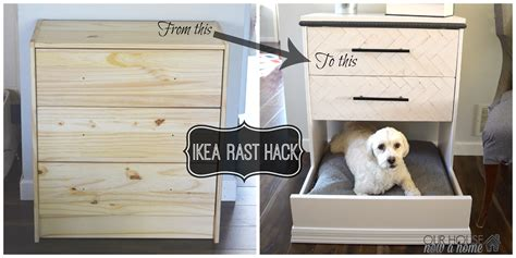 ikea dog house ikea rast dresser hack dresser into dog bed our house now a home