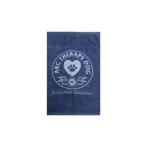 akc therapy akc therapy towel akc shop
