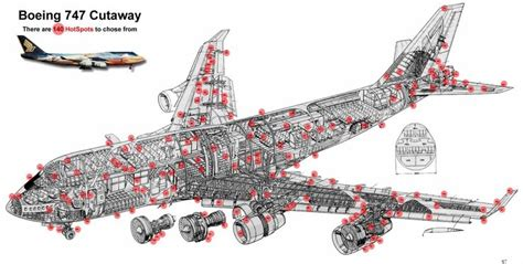 747 cross section pin by mike dietrich on aircraft boeing 747 pinterest